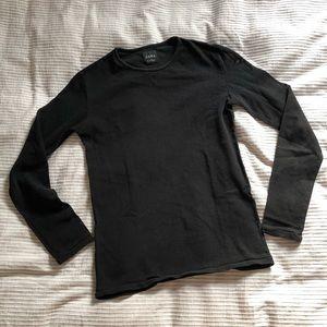 Black mesh Zara top